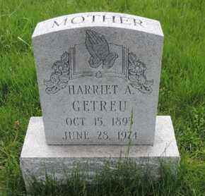 GETREU, HARRIET A. - Franklin County, Ohio | HARRIET A. GETREU - Ohio Gravestone Photos
