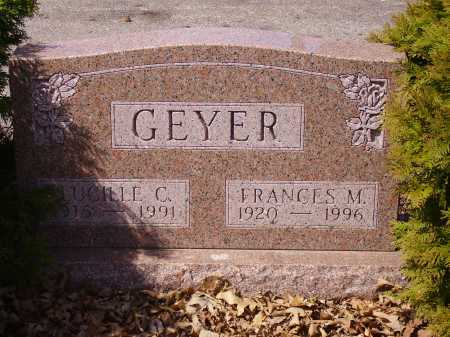 GEYER, FRANCES M. - Franklin County, Ohio | FRANCES M. GEYER - Ohio Gravestone Photos