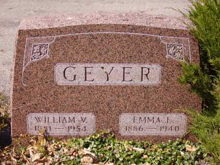 GEYER, WILLIAM V. - Franklin County, Ohio | WILLIAM V. GEYER - Ohio Gravestone Photos
