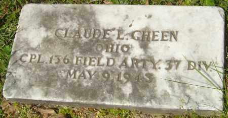 GHEEN, CLAUDE L - Franklin County, Ohio | CLAUDE L GHEEN - Ohio Gravestone Photos