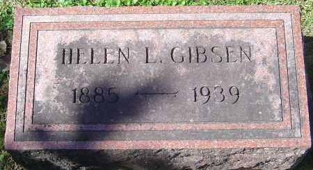 GIBSEN, HELEN L - Franklin County, Ohio | HELEN L GIBSEN - Ohio Gravestone Photos