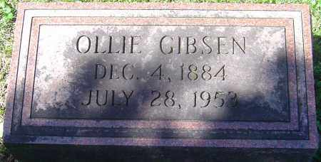 GIBSEN, OLLIE - Franklin County, Ohio | OLLIE GIBSEN - Ohio Gravestone Photos
