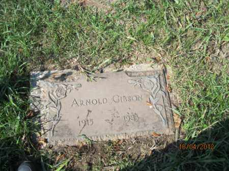 GIBSON, ARNOLD - Franklin County, Ohio | ARNOLD GIBSON - Ohio Gravestone Photos