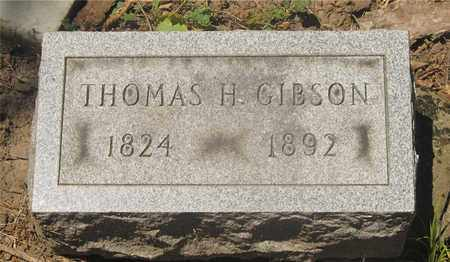 GIBSON, THOMAS H. - Franklin County, Ohio | THOMAS H. GIBSON - Ohio Gravestone Photos
