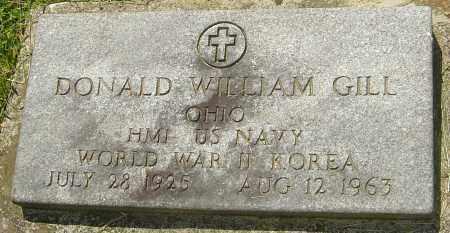 GILL, DONALD WILLIAM - Franklin County, Ohio | DONALD WILLIAM GILL - Ohio Gravestone Photos