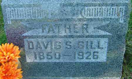 GILL, DAVIS S - Franklin County, Ohio | DAVIS S GILL - Ohio Gravestone Photos