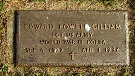 GILLIAM, EDWARD POWELL - Franklin County, Ohio | EDWARD POWELL GILLIAM - Ohio Gravestone Photos