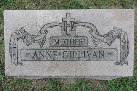 GILLIVAN, ANNE - Franklin County, Ohio | ANNE GILLIVAN - Ohio Gravestone Photos
