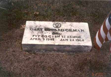 GILMAN, GARY EDWARD - Franklin County, Ohio | GARY EDWARD GILMAN - Ohio Gravestone Photos