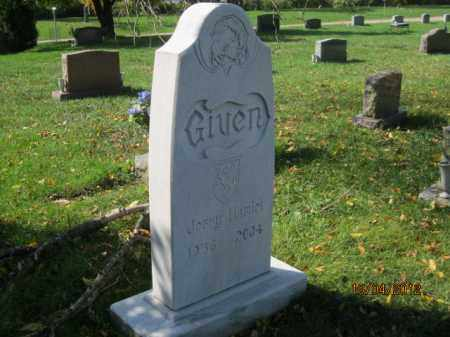 "GIVEN, GERALD ""JERRY"" HAMLET - Franklin County, Ohio 