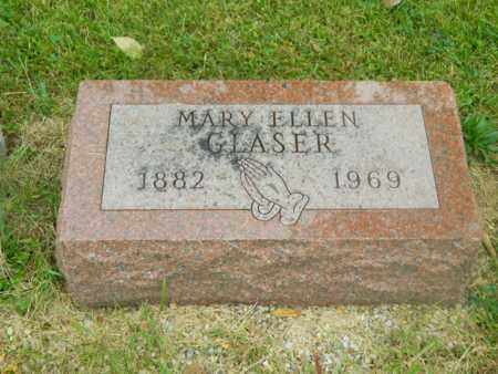 BROCKMAN GLASER, MARY ELLEN - Franklin County, Ohio | MARY ELLEN BROCKMAN GLASER - Ohio Gravestone Photos