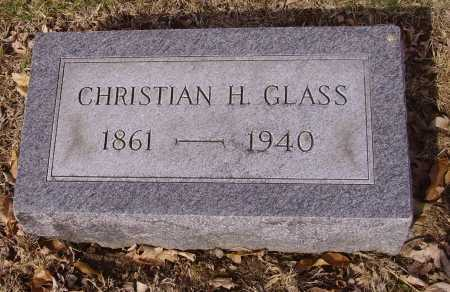 GLASS, CHRISTIAN H. - Franklin County, Ohio | CHRISTIAN H. GLASS - Ohio Gravestone Photos