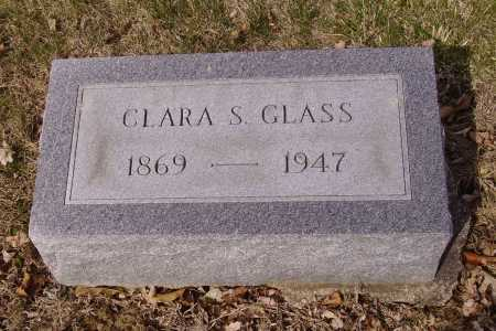 GLASS, CLARA S. - Franklin County, Ohio | CLARA S. GLASS - Ohio Gravestone Photos