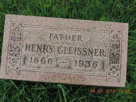 GLEISSNER, HENRY - Franklin County, Ohio | HENRY GLEISSNER - Ohio Gravestone Photos