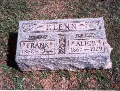 GLENN, ALICE - Franklin County, Ohio | ALICE GLENN - Ohio Gravestone Photos