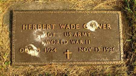 GLOVER, HERBERT WADE - Franklin County, Ohio | HERBERT WADE GLOVER - Ohio Gravestone Photos