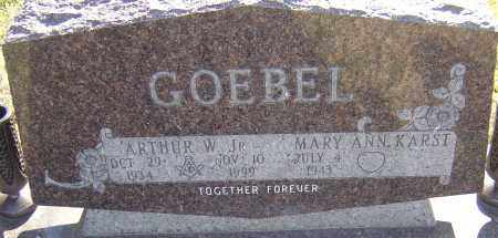 GOEBEL, ARTHUR - Franklin County, Ohio | ARTHUR GOEBEL - Ohio Gravestone Photos