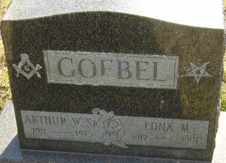 GOEBEL, ARTHUR W - Franklin County, Ohio | ARTHUR W GOEBEL - Ohio Gravestone Photos