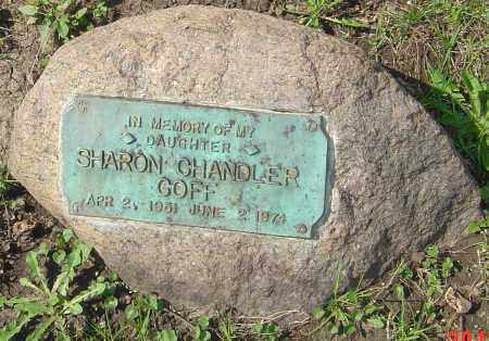 CHANDLER GOFF, SHARON - Franklin County, Ohio | SHARON CHANDLER GOFF - Ohio Gravestone Photos