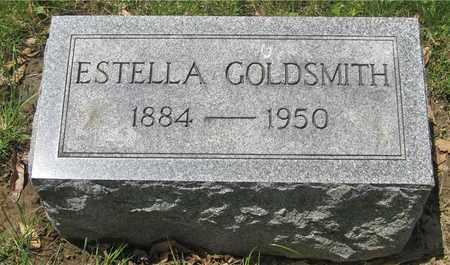 GOLDSMITH, ESTELLA - Franklin County, Ohio | ESTELLA GOLDSMITH - Ohio Gravestone Photos