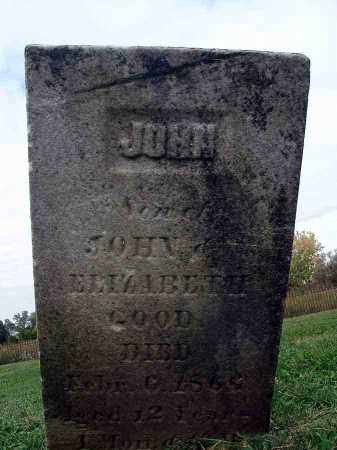GOOD, JOHN - Franklin County, Ohio | JOHN GOOD - Ohio Gravestone Photos