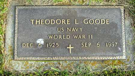 GOODE, THEODORE L. - Franklin County, Ohio | THEODORE L. GOODE - Ohio Gravestone Photos