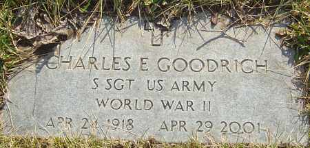 GOODRICH, CHARLES E - Franklin County, Ohio | CHARLES E GOODRICH - Ohio Gravestone Photos