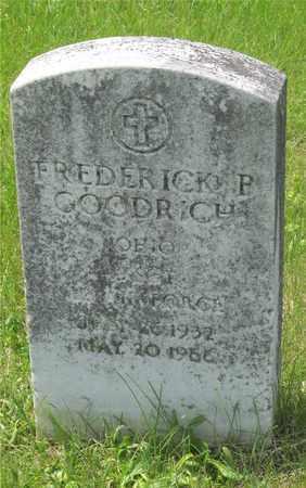 GOODRICH, FREDERICK P. - Franklin County, Ohio   FREDERICK P. GOODRICH - Ohio Gravestone Photos