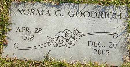 GOODRICH, NORMA G - Franklin County, Ohio | NORMA G GOODRICH - Ohio Gravestone Photos