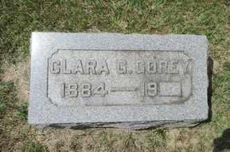GOREY, CLARA G - Franklin County, Ohio | CLARA G GOREY - Ohio Gravestone Photos