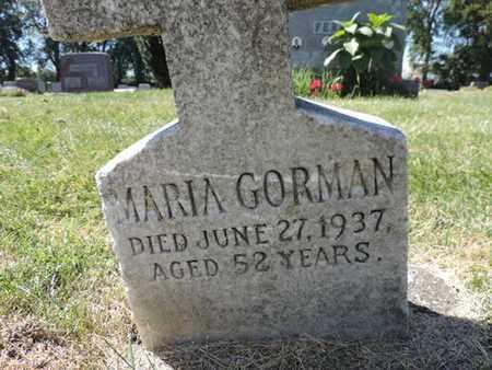 GORMAN, MARIA - Franklin County, Ohio | MARIA GORMAN - Ohio Gravestone Photos