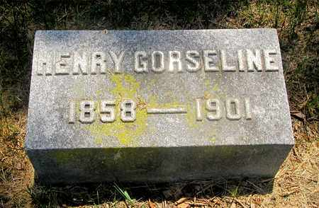 GORSELINE, HENRY - Franklin County, Ohio | HENRY GORSELINE - Ohio Gravestone Photos