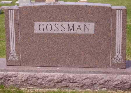 GOSSMAN, FAMILY MONUMENT - Franklin County, Ohio | FAMILY MONUMENT GOSSMAN - Ohio Gravestone Photos