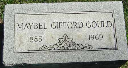 GIFFORD GOULD, MAYBEL - Franklin County, Ohio | MAYBEL GIFFORD GOULD - Ohio Gravestone Photos