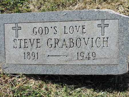 GRABOVICH, STEVE - Franklin County, Ohio | STEVE GRABOVICH - Ohio Gravestone Photos