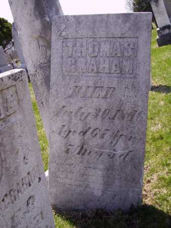 GRAHAM, THOMAS - Franklin County, Ohio | THOMAS GRAHAM - Ohio Gravestone Photos