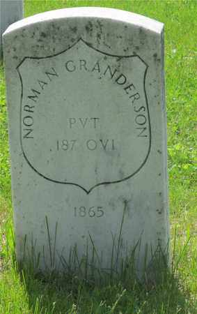 GRANDERSON, NORMAN - Franklin County, Ohio | NORMAN GRANDERSON - Ohio Gravestone Photos