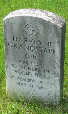GRANDSTAFF, HARVEY B. - Franklin County, Ohio | HARVEY B. GRANDSTAFF - Ohio Gravestone Photos