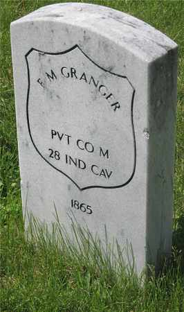 GRANGER, F. M. - Franklin County, Ohio | F. M. GRANGER - Ohio Gravestone Photos