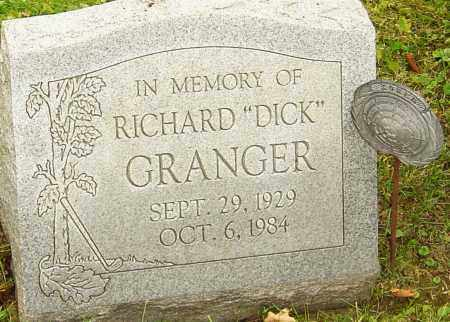 GRANGER, RICHARD - Franklin County, Ohio | RICHARD GRANGER - Ohio Gravestone Photos