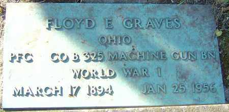 GRAVES, FLOYD E - Franklin County, Ohio | FLOYD E GRAVES - Ohio Gravestone Photos