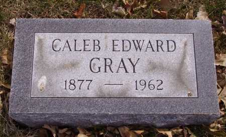 GRAY, CALEB EDWARD - Franklin County, Ohio | CALEB EDWARD GRAY - Ohio Gravestone Photos