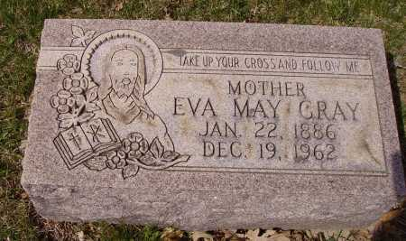 GRAY, EVA MAY - Franklin County, Ohio | EVA MAY GRAY - Ohio Gravestone Photos