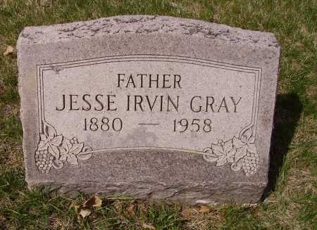 GRAY, JESSE IRVIN - Franklin County, Ohio | JESSE IRVIN GRAY - Ohio Gravestone Photos