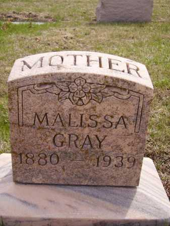 GRAY, MALISSA - Franklin County, Ohio | MALISSA GRAY - Ohio Gravestone Photos