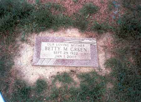 RHOADS GREEN, BETTY M. - Franklin County, Ohio | BETTY M. RHOADS GREEN - Ohio Gravestone Photos