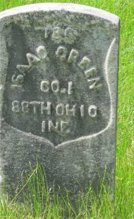GREEN, ISAAC - Franklin County, Ohio | ISAAC GREEN - Ohio Gravestone Photos
