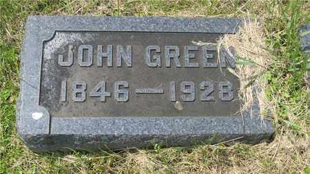 GREEN, JOHN - Franklin County, Ohio | JOHN GREEN - Ohio Gravestone Photos