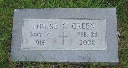 GREEN, LOUISE C. - Franklin County, Ohio | LOUISE C. GREEN - Ohio Gravestone Photos