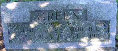 GREEN, MARY L - Franklin County, Ohio | MARY L GREEN - Ohio Gravestone Photos
